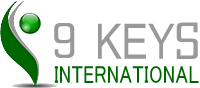 9Keys International logo
